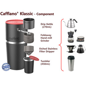 Cafflano Classic Coffee Maker Red
